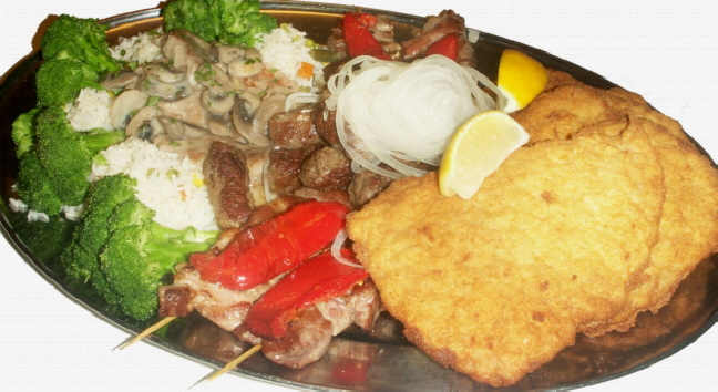 croatian restaurant,croatia,hrvatska,cevaps,cevapcici,parties,funeral wake,party rental,wedding receptions,corporate lunches,birthday party,anniversary,baptism,funeral,corporate meeting,lunches,mississauga,toronto,ontario,Schnitzel